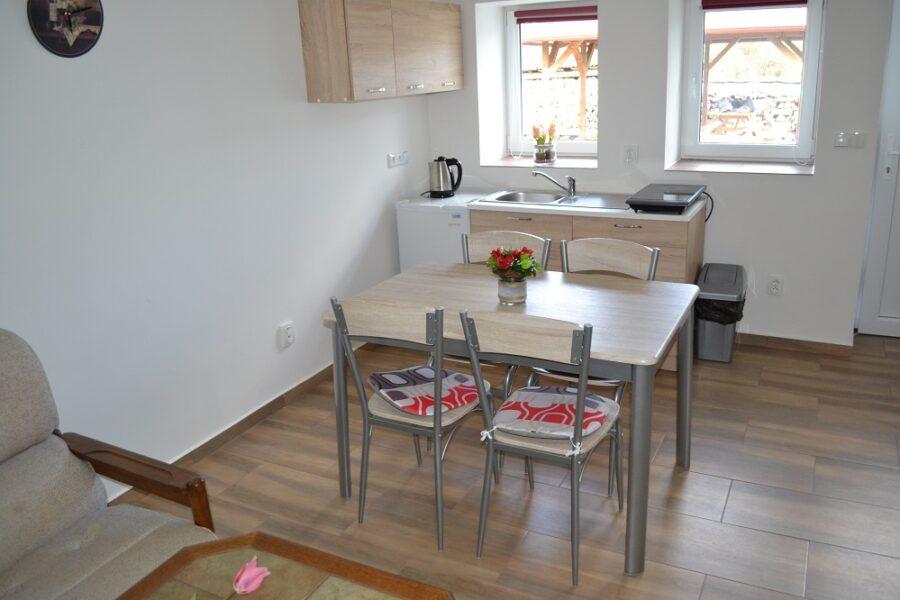Apartmán 5 - Kuchyňský kout