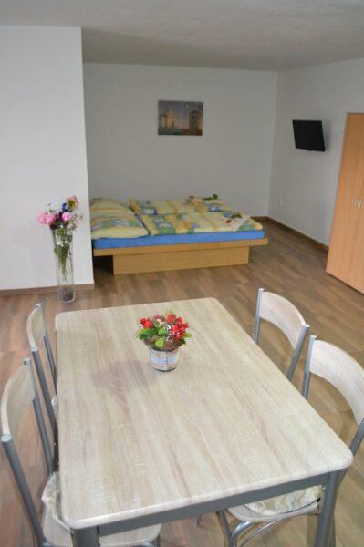 Apartmány 3 -Ložnice