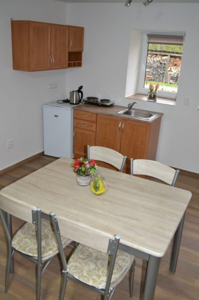 Apartmány 3 - Kuchyňský kout