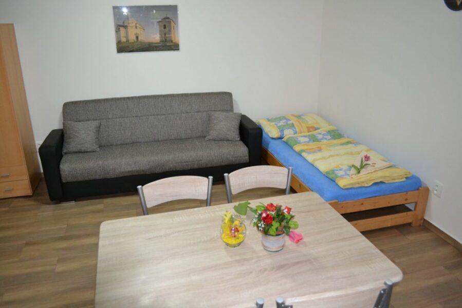 Apartmány 3 - Obývací kout